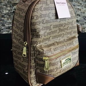 🆕JUICY COUTURE Signature Backpack Purse Travel